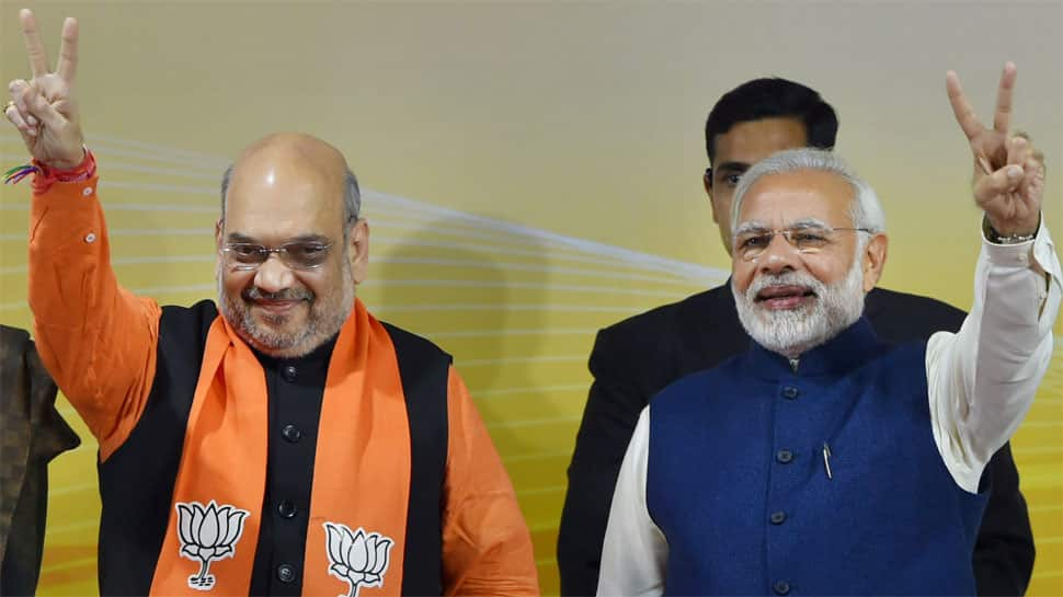 Modi government's 4 years: BJP readies blitzkrieg; PM, Amit Shah to lead from the front