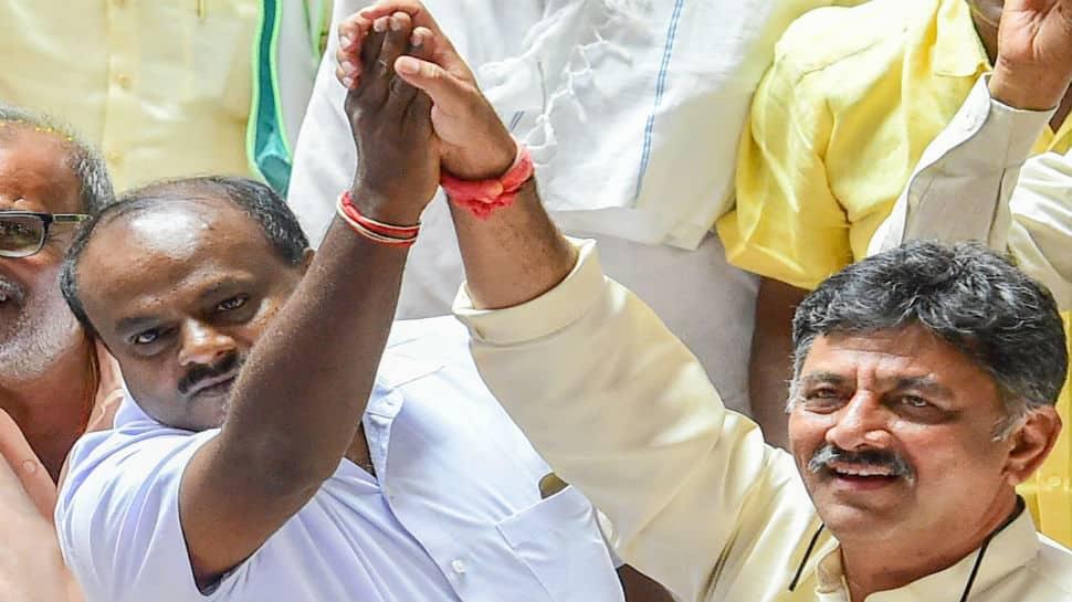 Kumaraswamy to take oath as Karnataka CM, BJP calls it 'Anti-People's Mandate Day'