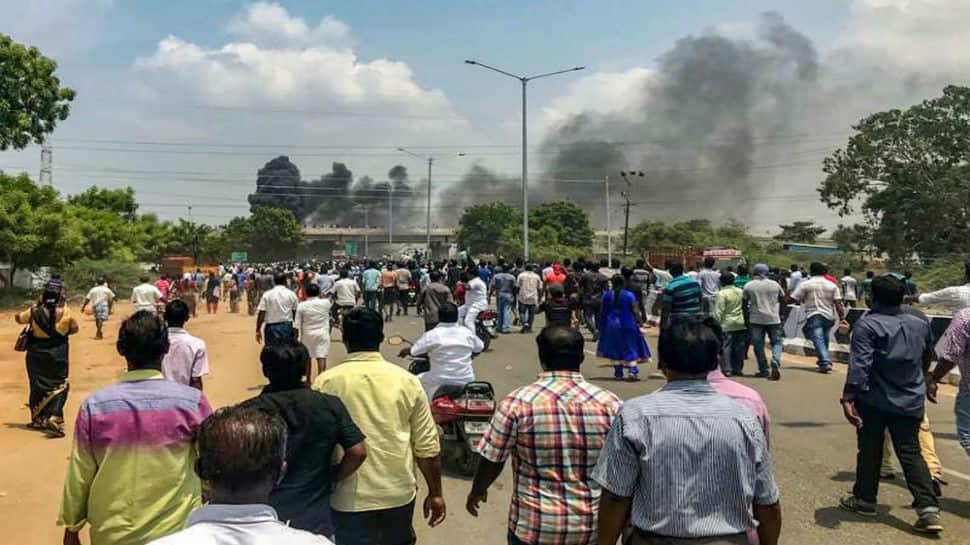 Anti-Sterlite protests: On second day of violence, police firing kills one