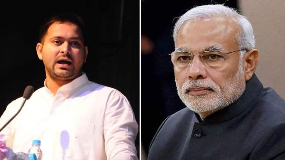Accept Virat's fitness challenge but also mine on job creation: Tejashwi to PM Modi