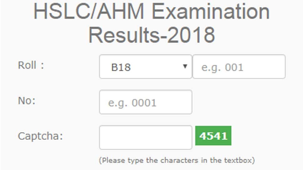 Assam HSLC result 2018: SEBA Class 10th result out; Raktim Bhuyan tops; Pass percentage, toppers list on results.sebaonline.org