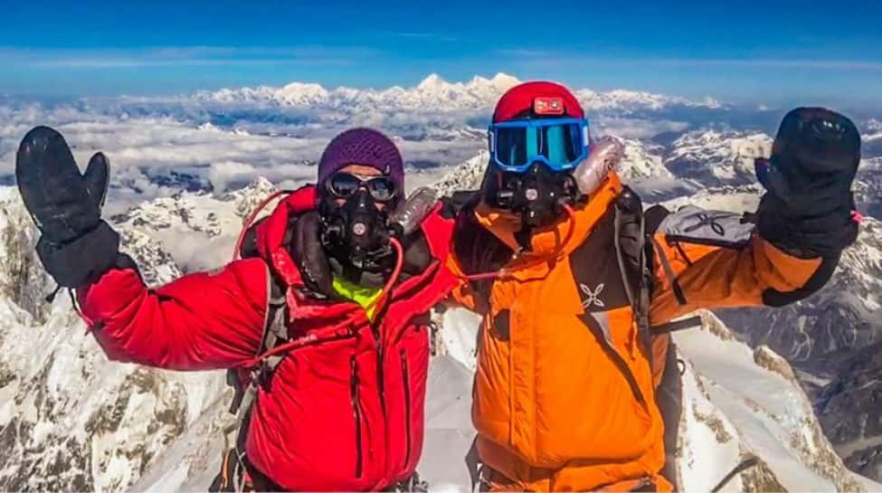 India's Arjun Vajpai world's youngest to summit six peaks over 8,000m after scaling Kangchenjunga