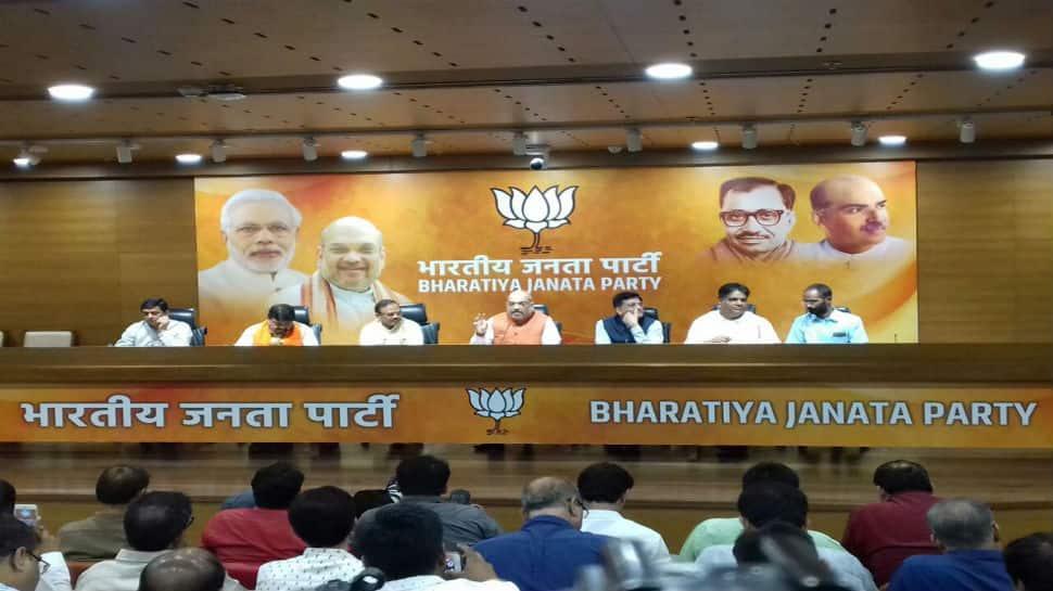 Narendra Modi is world's most-hardworking PM: Amit Shah on NDA's 4th anniversary
