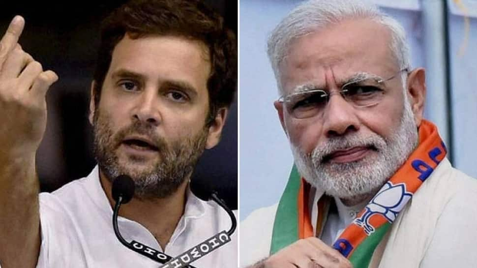 Rahul Gandhi's report card for PM Narendra Modi: Grade F for work, A+ for self promotion
