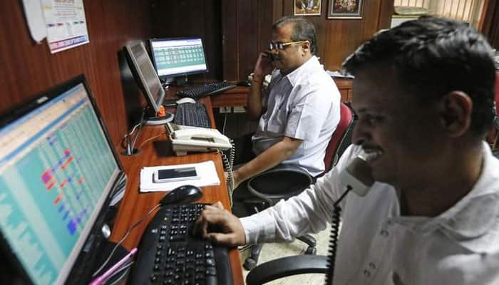 Sensex jumps over 160 points, Nifty above 10,650