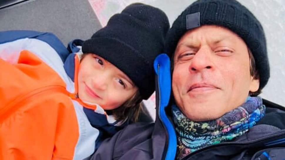 Children should believe in their own little dreams: Shah Rukh Khan as AbRam turns 5