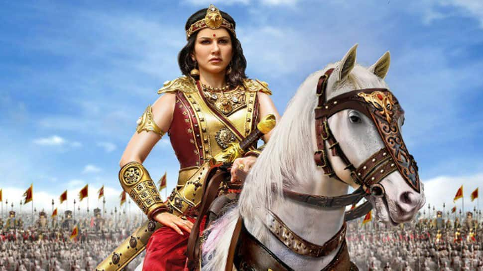 Sunny Leone aces her warrior princess avatar in 'Veeramadevi', shares horse riding video from her first look shoot—Watch