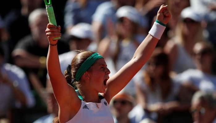 Flustered champion Jelena Ostapenko falls at first French Open hurdle