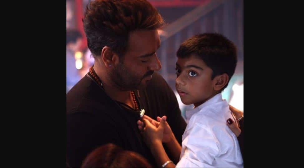 Ajay Devgn' son Yug's fitness video would give Bollywood hunks a run for their money—Watch