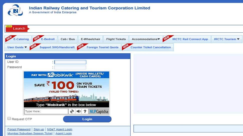IRCTC website upgrade to make train ticket booking easier