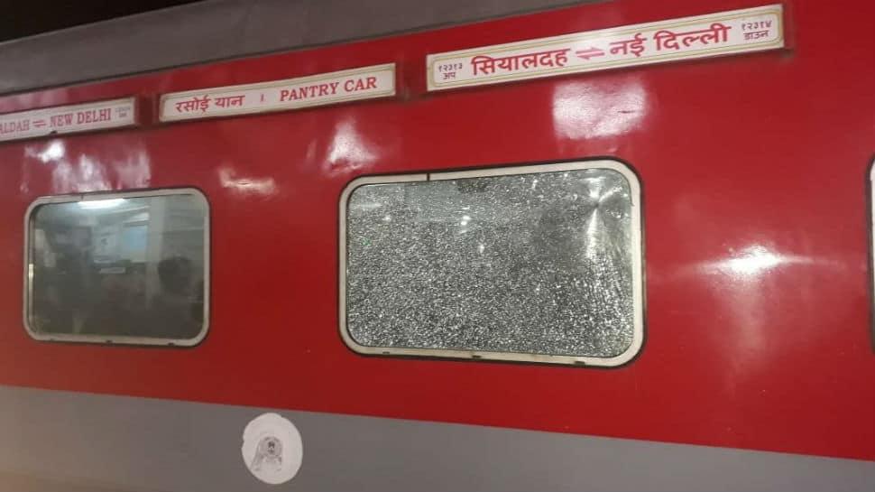 Six passengers injured after stones pelted at Sealdah-Rajdhani Express