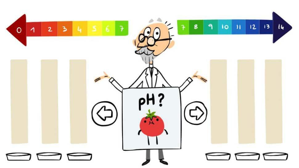 Google Doodle salutes Danish biochemist Sorensen
