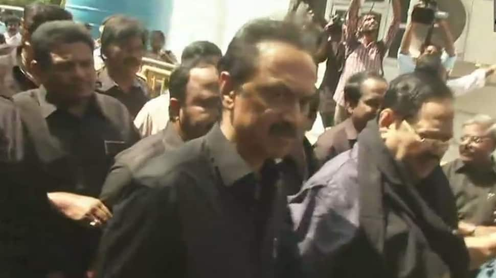 Stalin, other DMK MLAs wear black clothes to Tamil Nadu Assembly over Tuticorin killing