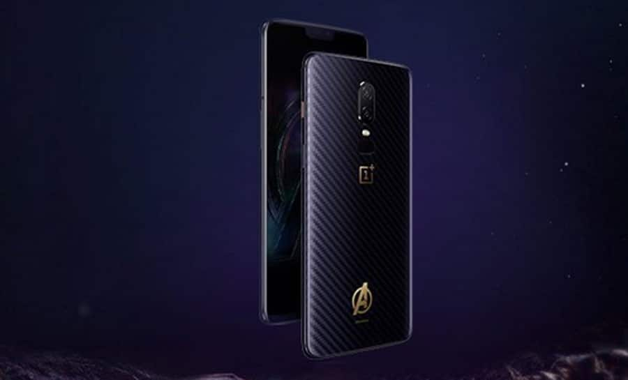 OnePlus 6 Marvel Avengers limited edition up for sale today