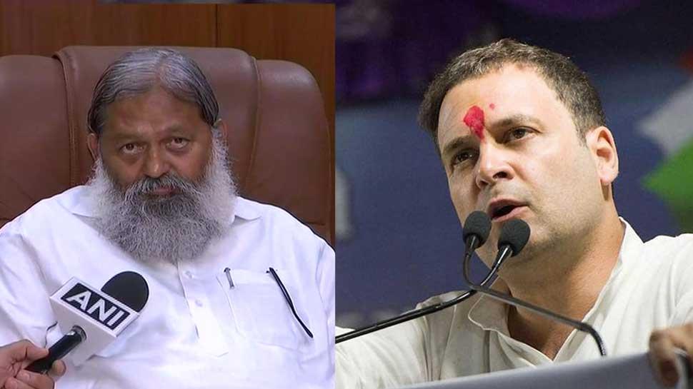 Haryana minister Anil Vij compares Rahul Gandhi to deadly Nipah virus, sparks row