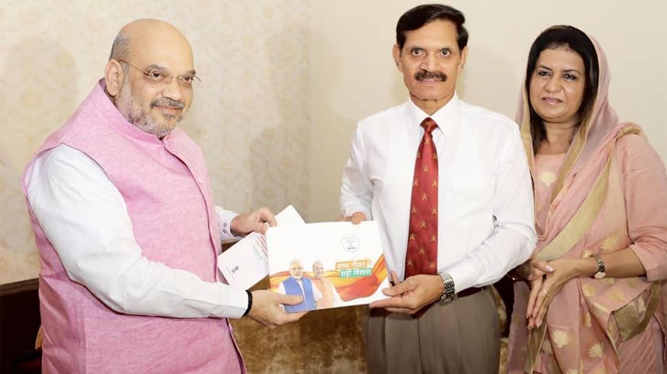 Amit Shah kicks off BJP's massive mass contact drive