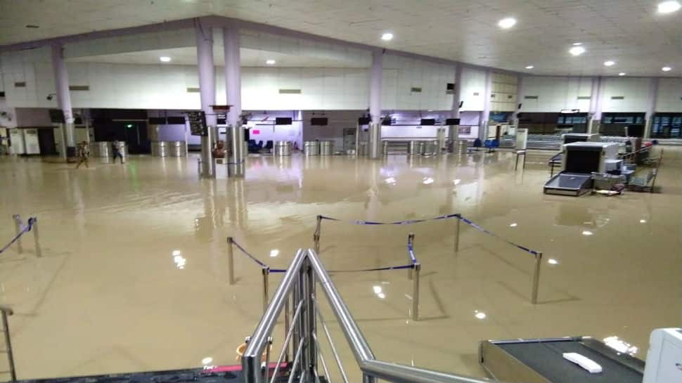 Airport in Port Blair flooded with rainwater, at least nine flights delayed