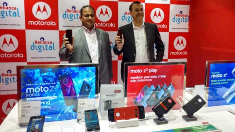 Motorola smartphones now at Reliance Digital, MyJio stores