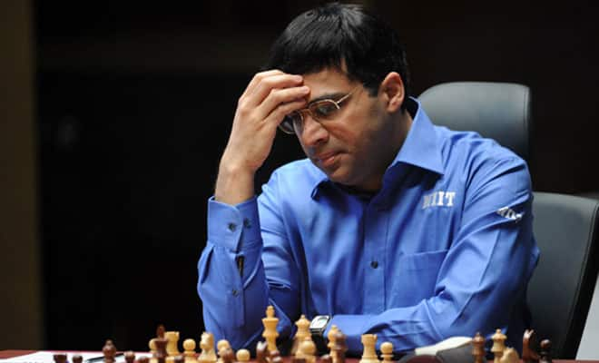 Viswanathan Anand holds Hikaru Nakamura to an easy draw in Norway