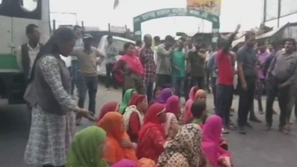 Locals demanding water block national highway near Shimla