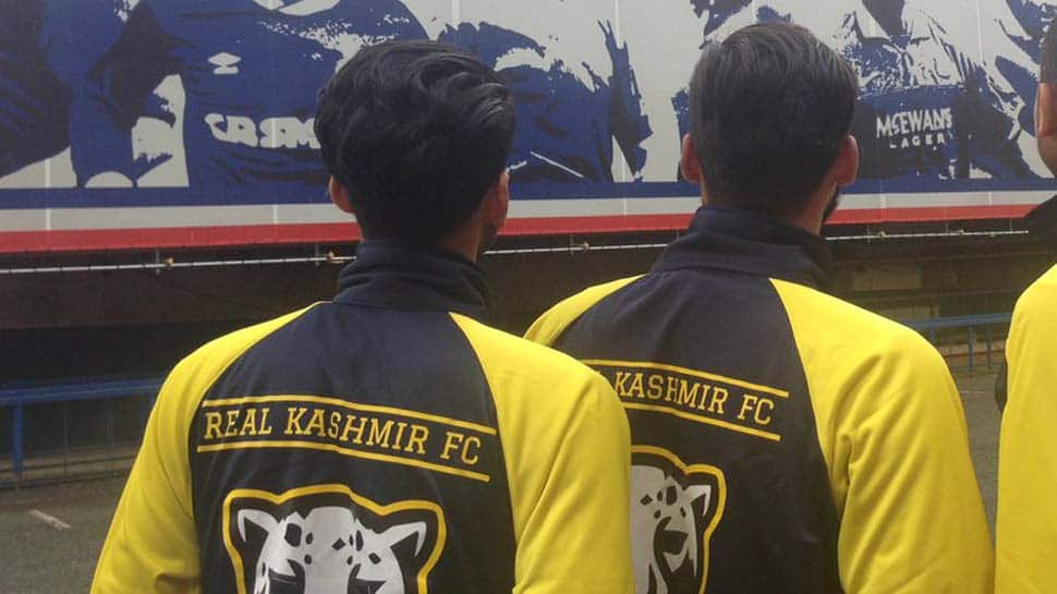 Real Kashmir FC express happiness after being promoted to I-League