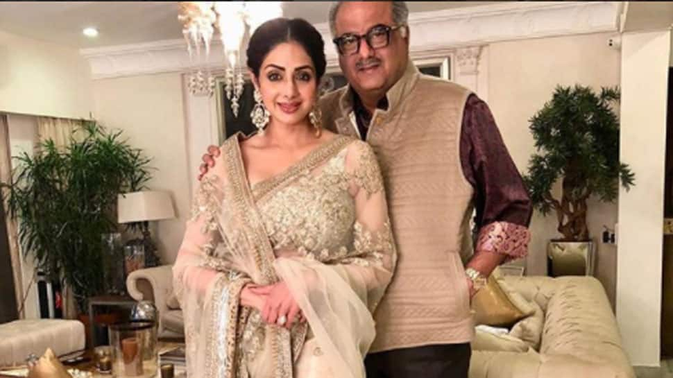 Boney Kapoor shares an emotional video of Sridevi on their 22nd anniversary-Watch