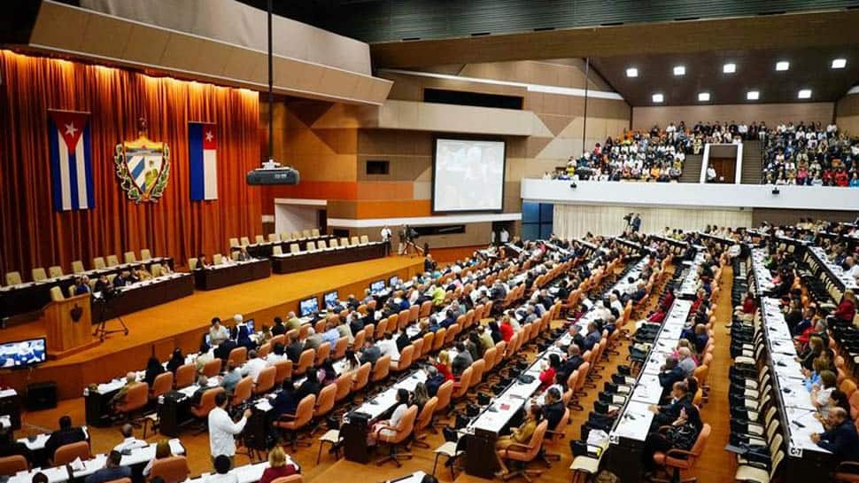 Cuba holds parliament meeting to discuss constitutional reform