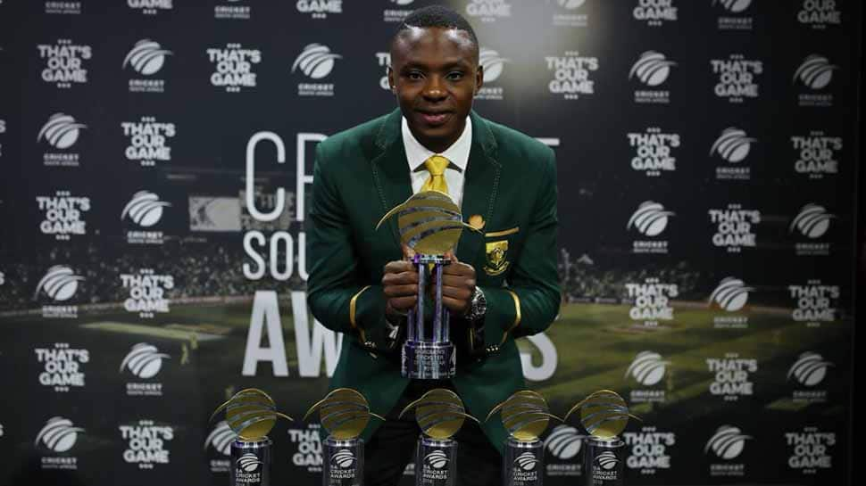Kagiso Rabada wins South Africa's top player prize