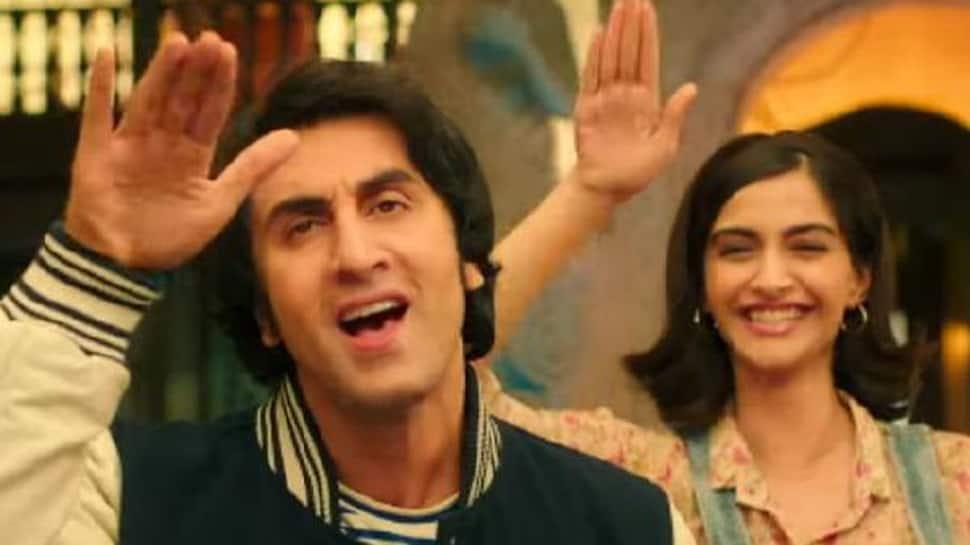 Sanju song Badhiya: Ranbir Kapoor as young Sanjay Dutt impresses with his boyish charms