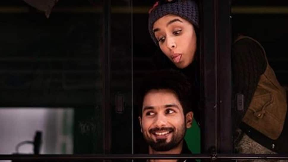 Shahid Kapoor shares a 'Tongue n cheek' pic with Shraddha Kapoor on sets of Batti Gul Meter Chalu