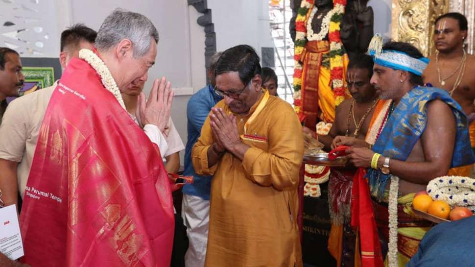 Singapore re-sanctifies 148-year-old Hindu temple