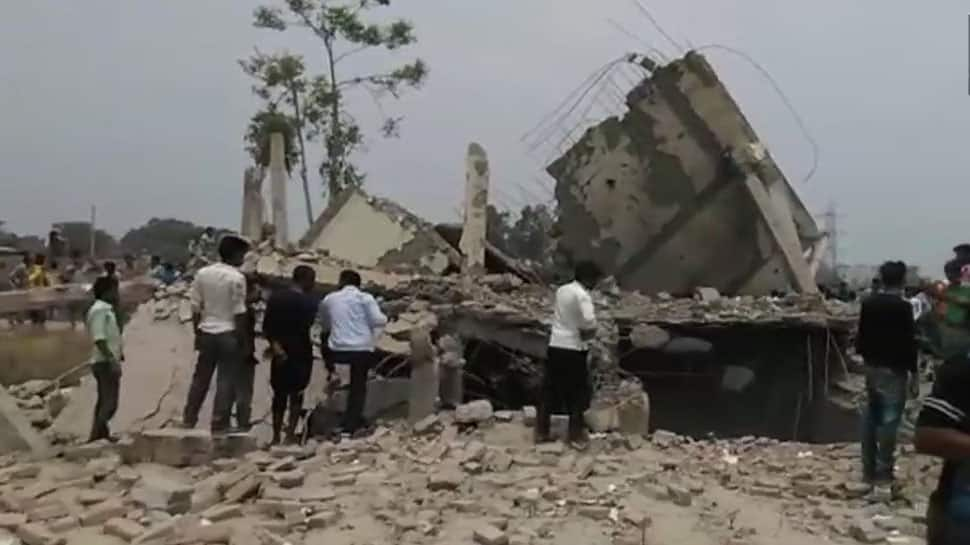 Lucknow: Explosion in house in Kakori kills 2, several feared trapped under rubble