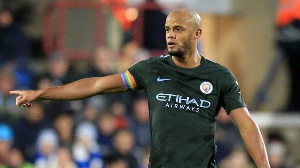 Injured Vincent Kompany retained in Belgium World Cup squad