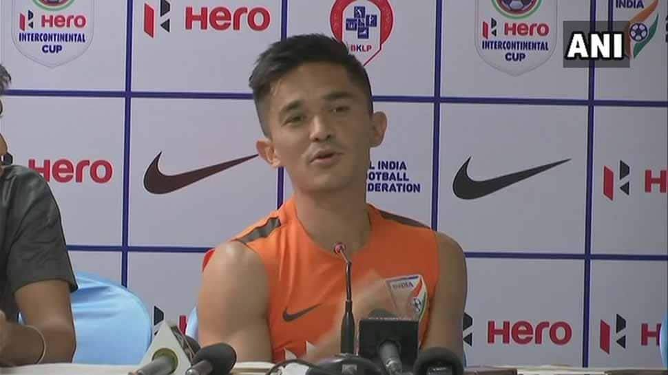 Intercontinental Cup: Chhetri double on 100th game helps India beat Kenya