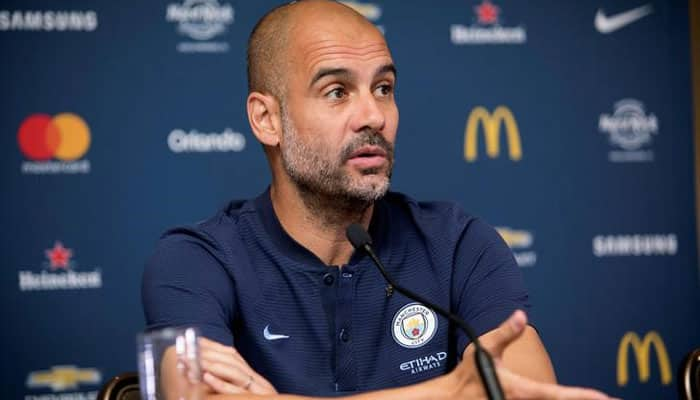Manchester City manager Pep Guardiola banned for two matches by UEFA