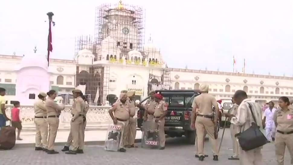 Security tightened outside Golden Temple for Operation Blue Star anniversary