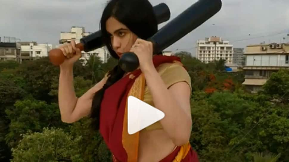 Adah Sharma works out wearing a saree, video goes viral—Watch