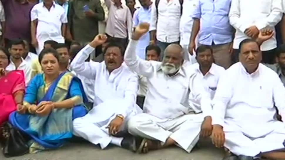 Fissures in Karnataka Congress? Party MLA Satish Jarkiholi's supporters protest seeking Cabinet seat for him