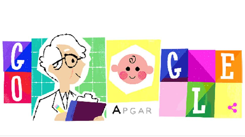 Google doodle celebrates Dr Virginia Apgar, the doctor behind unique newborn score