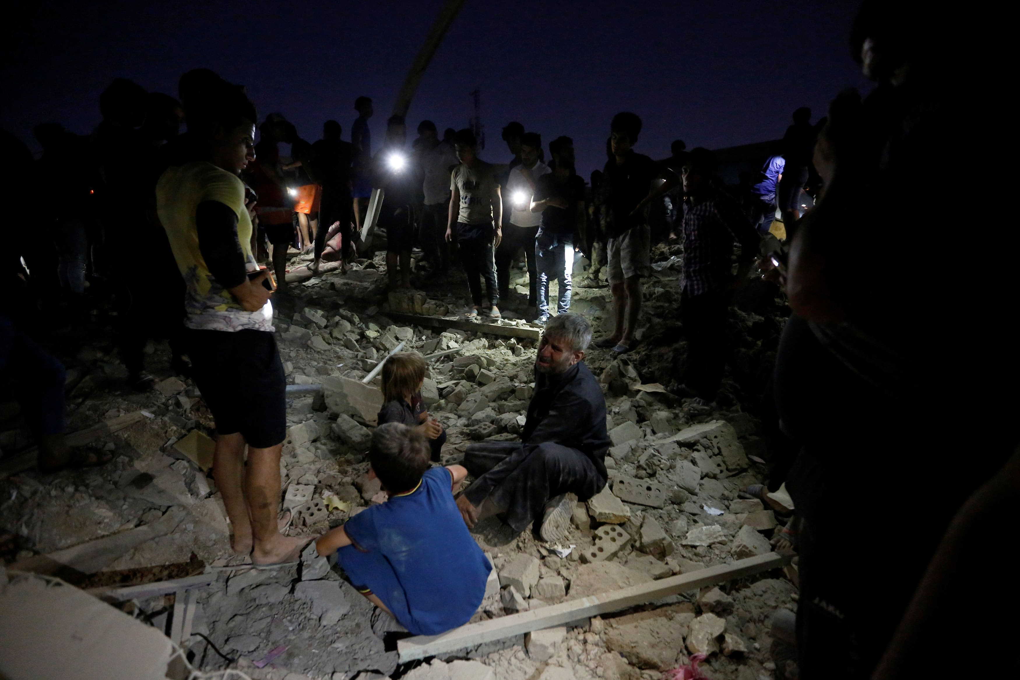 At least 16 dead as arms depot blows up in Baghdad