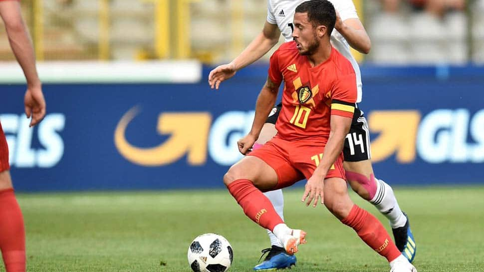 Belgium cruise past Egypt 3-0 to settle World Cup nerves