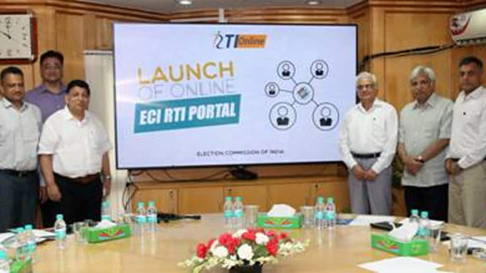 Election Commission launches its online RTI portal, fee to be paid online too