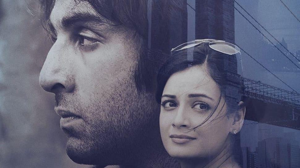 Sanju new poster out: Dia Mirza pulls off Maanayata Dutt's simpleton avatar with grace