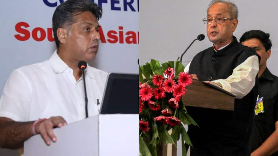 Evil then, virtuous now? Manish Tewari attacks Pranab Mukherjee for attending RSS event