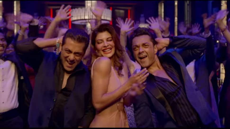 Salman Khan and 'Race 3' gang jazz up 'Party Chale On' song—Watch