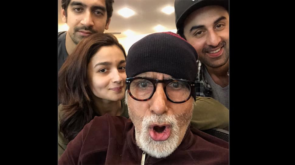 Amitabh Bachchan gives English lesson to Brahmastra co-star Alia Bhatt in a hilarious way