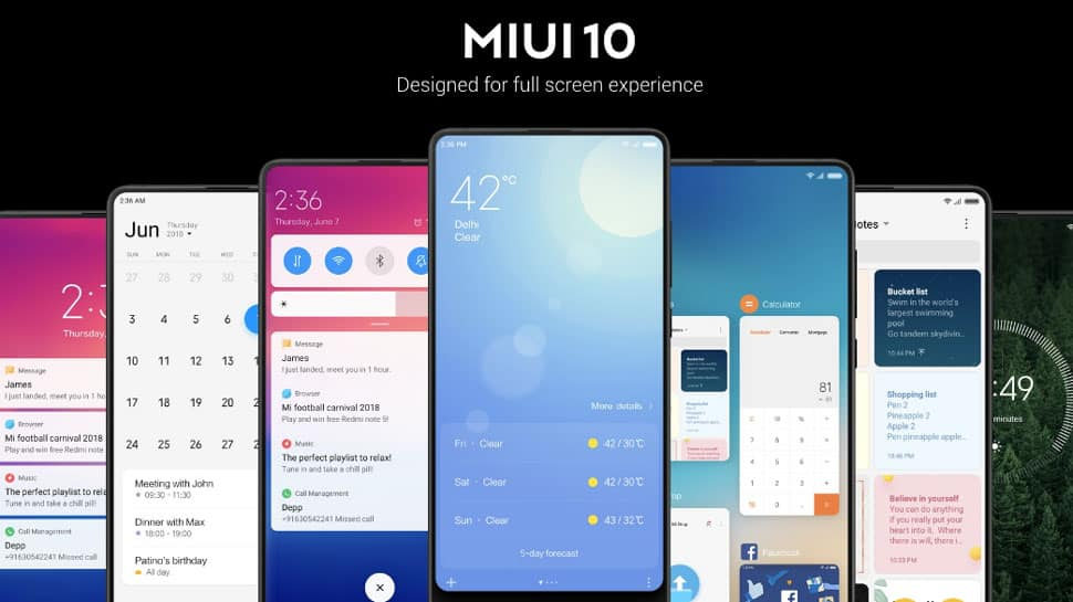 Xiaomi unveils updated OS MIUI 10 in India: All you want to know