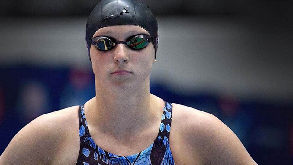 Katie Ledecky celebrates new TYR deal with sizzling 200m free win
