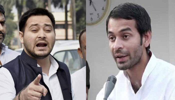 'Sidelined' Tej Pratap says some people trying to break RJD, denies rift with Tejashwi