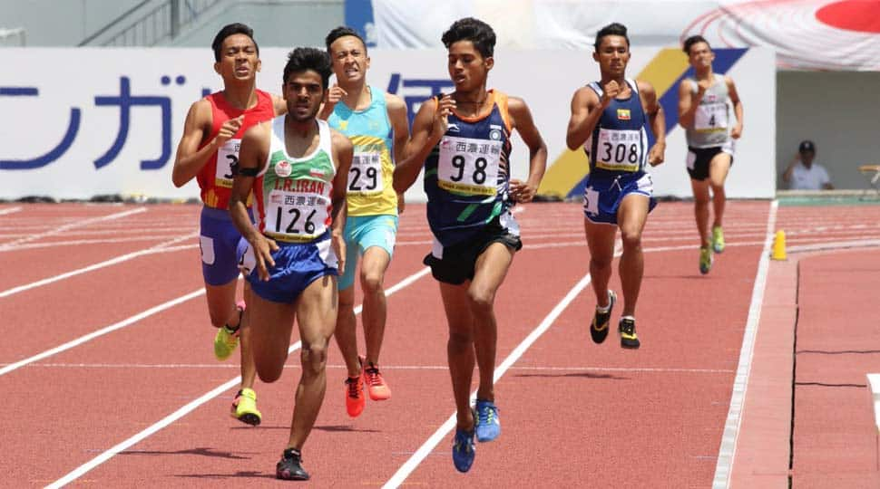 Anu Kumar wins men's 800m at Asian Junior Athletics Championships